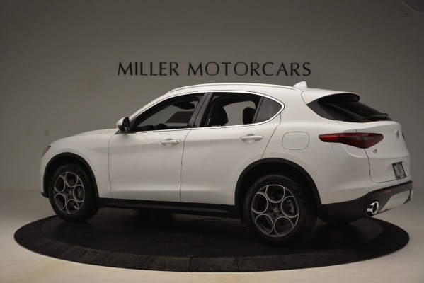 New 2019 Alfa Romeo Stelvio Q4 for sale Sold at Bentley Greenwich in Greenwich CT 06830 4
