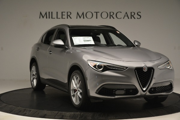 New 2019 Alfa Romeo Stelvio Ti Sport Q4 for sale Sold at Bentley Greenwich in Greenwich CT 06830 11
