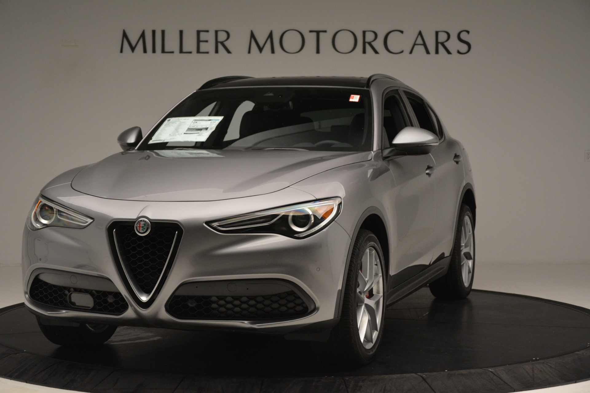New 2019 Alfa Romeo Stelvio Ti Sport Q4 for sale Sold at Bentley Greenwich in Greenwich CT 06830 1