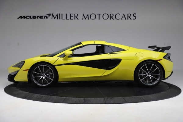 New 2019 McLaren 570S SPIDER Convertible for sale $227,660 at Bentley Greenwich in Greenwich CT 06830 10