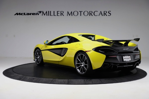 New 2019 McLaren 570S SPIDER Convertible for sale $227,660 at Bentley Greenwich in Greenwich CT 06830 11