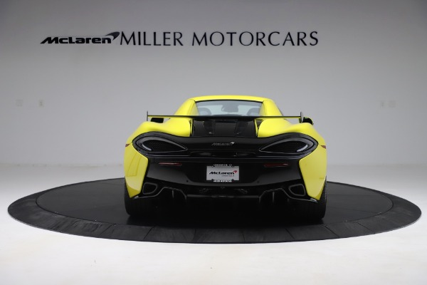 New 2019 McLaren 570S SPIDER Convertible for sale $227,660 at Bentley Greenwich in Greenwich CT 06830 12