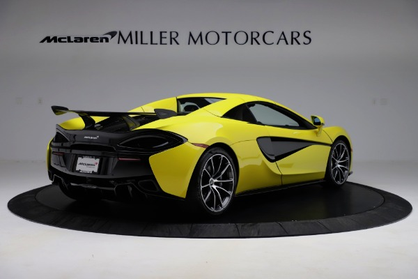 New 2019 McLaren 570S SPIDER Convertible for sale $227,660 at Bentley Greenwich in Greenwich CT 06830 13