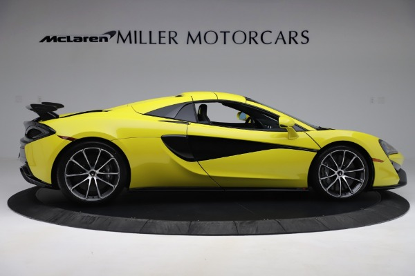 New 2019 McLaren 570S SPIDER Convertible for sale $227,660 at Bentley Greenwich in Greenwich CT 06830 14