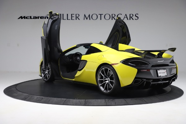 New 2019 McLaren 570S SPIDER Convertible for sale $227,660 at Bentley Greenwich in Greenwich CT 06830 19