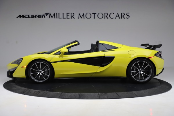 New 2019 McLaren 570S SPIDER Convertible for sale $227,660 at Bentley Greenwich in Greenwich CT 06830 2
