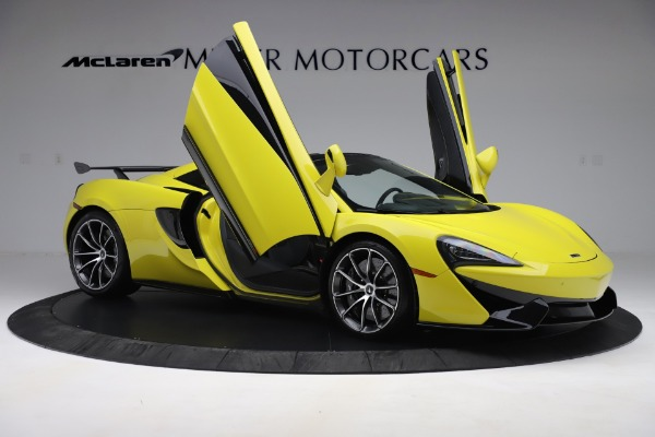 New 2019 McLaren 570S SPIDER Convertible for sale $227,660 at Bentley Greenwich in Greenwich CT 06830 22