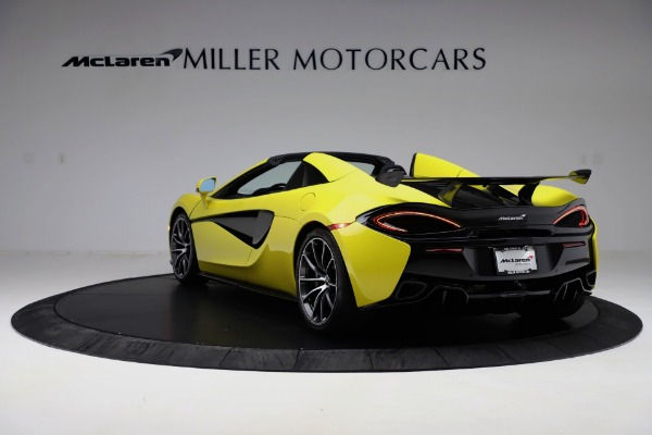 New 2019 McLaren 570S SPIDER Convertible for sale $227,660 at Bentley Greenwich in Greenwich CT 06830 3