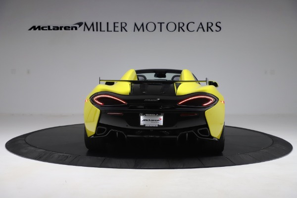 New 2019 McLaren 570S SPIDER Convertible for sale $227,660 at Bentley Greenwich in Greenwich CT 06830 4