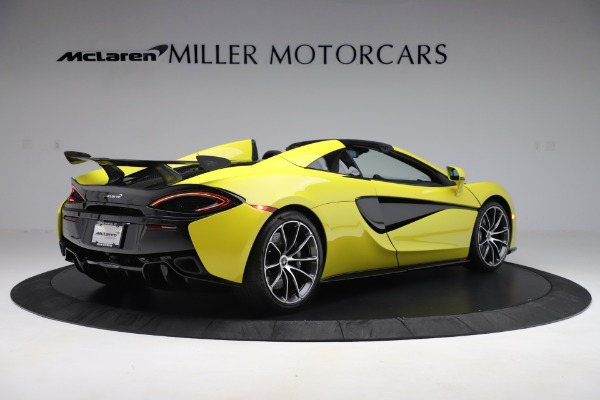 New 2019 McLaren 570S SPIDER Convertible for sale $227,660 at Bentley Greenwich in Greenwich CT 06830 5