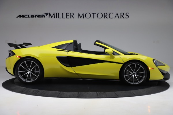 New 2019 McLaren 570S SPIDER Convertible for sale $227,660 at Bentley Greenwich in Greenwich CT 06830 6