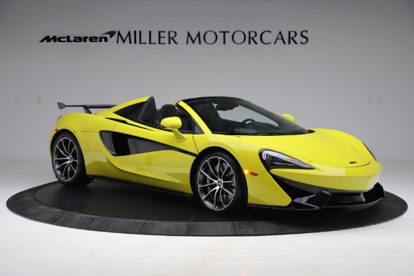 New 2019 McLaren 570S SPIDER Convertible for sale $227,660 at Bentley Greenwich in Greenwich CT 06830 7