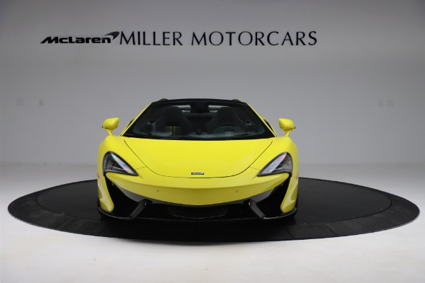 New 2019 McLaren 570S SPIDER Convertible for sale $227,660 at Bentley Greenwich in Greenwich CT 06830 8