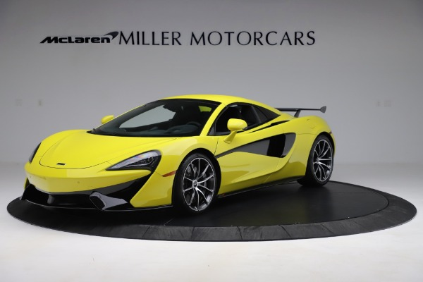 New 2019 McLaren 570S SPIDER Convertible for sale $227,660 at Bentley Greenwich in Greenwich CT 06830 9
