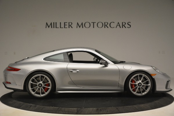 Used 2018 Porsche 911 GT3 for sale Sold at Bentley Greenwich in Greenwich CT 06830 10