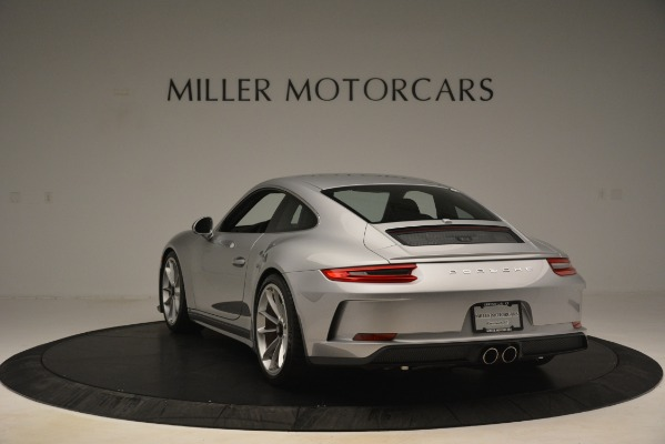 Used 2018 Porsche 911 GT3 for sale Sold at Bentley Greenwich in Greenwich CT 06830 5