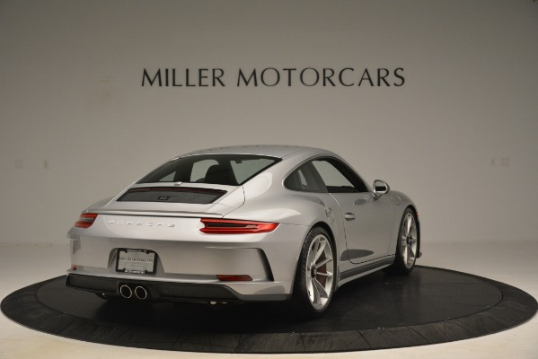 Used 2018 Porsche 911 GT3 for sale Sold at Bentley Greenwich in Greenwich CT 06830 6