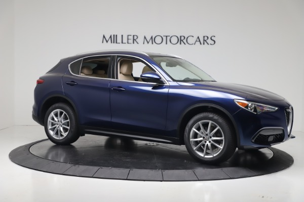 New 2019 Alfa Romeo Stelvio Ti Lusso Q4 for sale Sold at Bentley Greenwich in Greenwich CT 06830 10