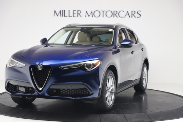 New 2019 Alfa Romeo Stelvio Ti Lusso Q4 for sale Sold at Bentley Greenwich in Greenwich CT 06830 1