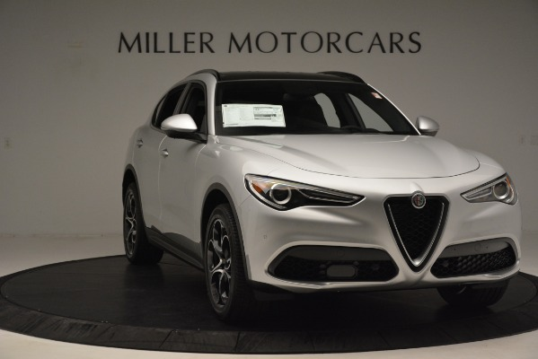 New 2019 Alfa Romeo Stelvio Ti Sport Q4 for sale Sold at Bentley Greenwich in Greenwich CT 06830 11