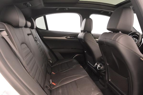 New 2019 Alfa Romeo Stelvio Ti Sport Q4 for sale Sold at Bentley Greenwich in Greenwich CT 06830 27