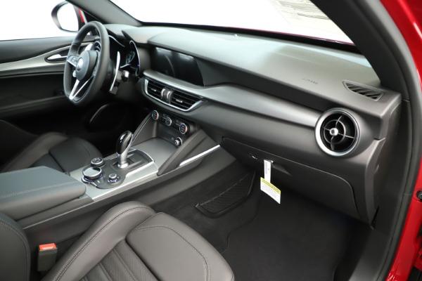 New 2019 Alfa Romeo Stelvio Ti Sport Q4 for sale Sold at Bentley Greenwich in Greenwich CT 06830 22