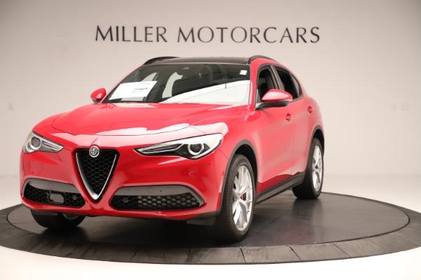 New 2019 Alfa Romeo Stelvio Ti Sport Q4 for sale Sold at Bentley Greenwich in Greenwich CT 06830 1