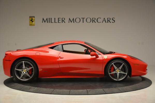 Used 2014 Ferrari 458 Italia for sale Sold at Bentley Greenwich in Greenwich CT 06830 9