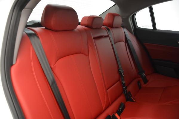 New 2019 Alfa Romeo Giulia Q4 for sale Sold at Bentley Greenwich in Greenwich CT 06830 26