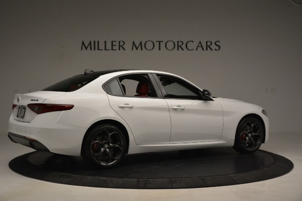 New 2019 Alfa Romeo Giulia Q4 for sale Sold at Bentley Greenwich in Greenwich CT 06830 8