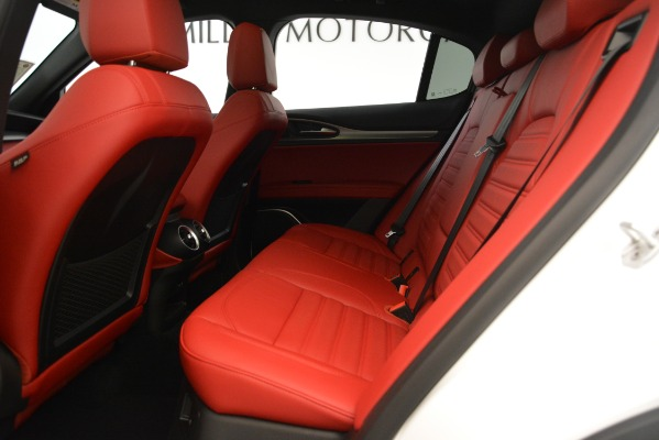 New 2019 Alfa Romeo Stelvio Ti Sport Q4 for sale Sold at Bentley Greenwich in Greenwich CT 06830 19