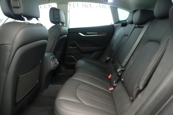 New 2019 Maserati Levante Q4 Nerissimo for sale $89,850 at Bentley Greenwich in Greenwich CT 06830 19