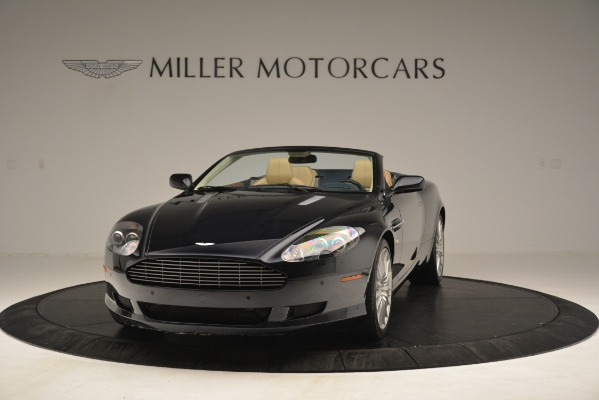 Used 2007 Aston Martin DB9 Convertible for sale Sold at Bentley Greenwich in Greenwich CT 06830 2