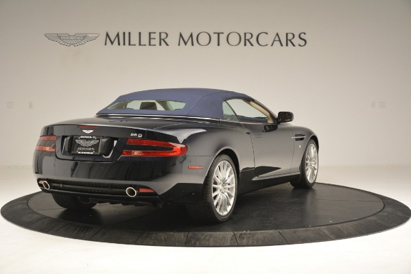 Used 2007 Aston Martin DB9 Convertible for sale Sold at Bentley Greenwich in Greenwich CT 06830 28