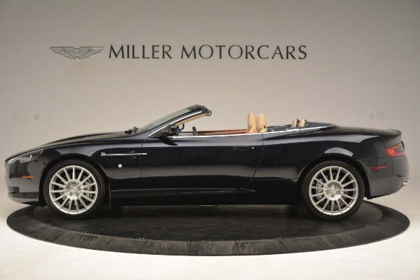 Used 2007 Aston Martin DB9 Convertible for sale Sold at Bentley Greenwich in Greenwich CT 06830 3