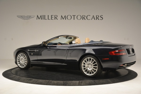 Used 2007 Aston Martin DB9 Convertible for sale Sold at Bentley Greenwich in Greenwich CT 06830 4