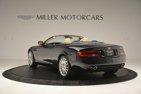 Used 2007 Aston Martin DB9 Convertible for sale Sold at Bentley Greenwich in Greenwich CT 06830 5