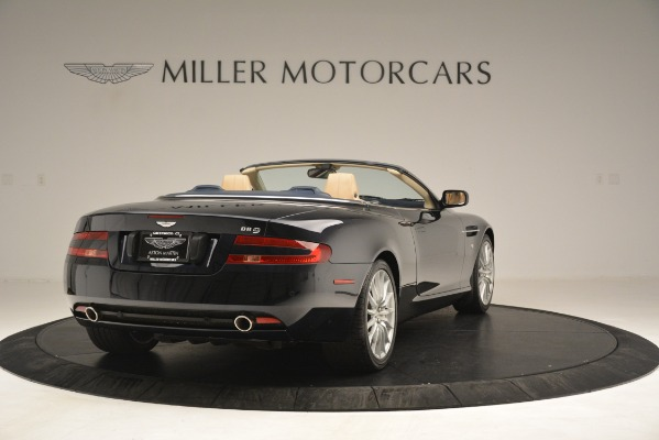 Used 2007 Aston Martin DB9 Convertible for sale Sold at Bentley Greenwich in Greenwich CT 06830 7