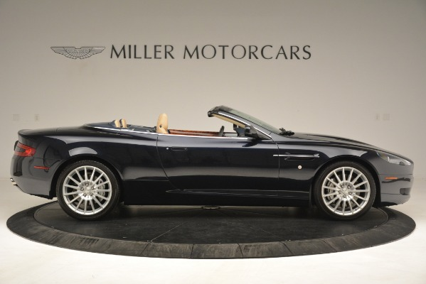 Used 2007 Aston Martin DB9 Convertible for sale Sold at Bentley Greenwich in Greenwich CT 06830 9