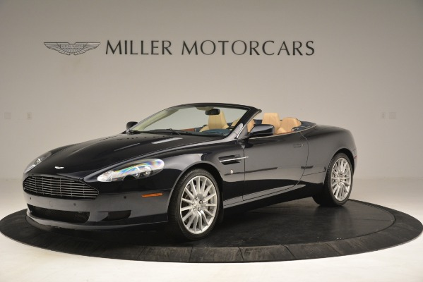 Used 2007 Aston Martin DB9 Convertible for sale Sold at Bentley Greenwich in Greenwich CT 06830 1