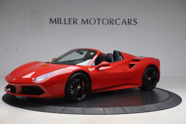 Used 2017 Ferrari 488 Spider for sale $273,900 at Bentley Greenwich in Greenwich CT 06830 2