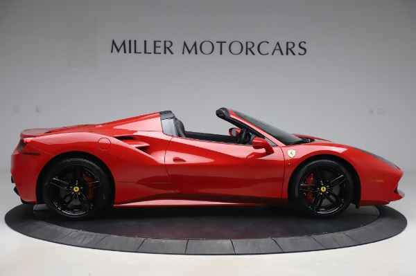Used 2017 Ferrari 488 Spider for sale $275,900 at Bentley Greenwich in Greenwich CT 06830 9