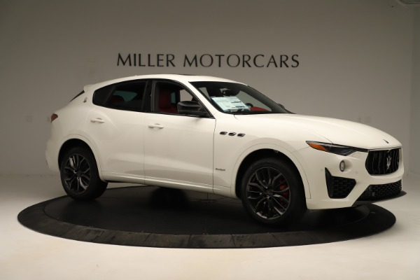 New 2019 Maserati Levante Q4 GranSport Nerissimo for sale $87,845 at Bentley Greenwich in Greenwich CT 06830 10