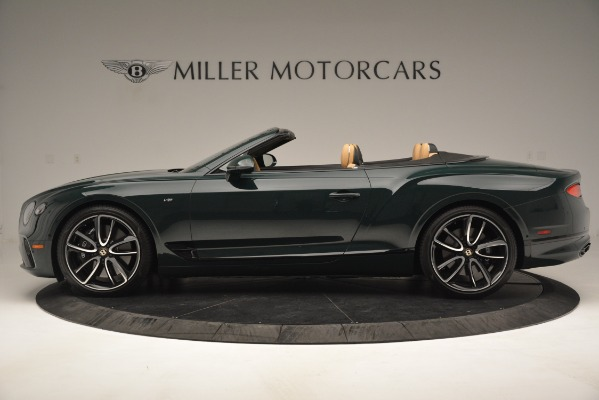 New 2020 Bentley Continental GTC V8 for sale Sold at Bentley Greenwich in Greenwich CT 06830 3
