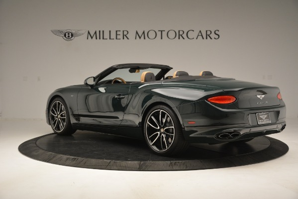 New 2020 Bentley Continental GTC V8 for sale Sold at Bentley Greenwich in Greenwich CT 06830 4