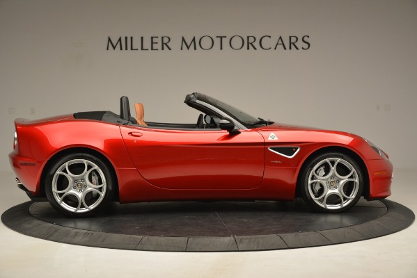 Used 2009 Alfa Romeo 8c Spider for sale Sold at Bentley Greenwich in Greenwich CT 06830 10