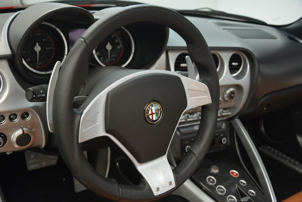 Used 2009 Alfa Romeo 8c Spider for sale Sold at Bentley Greenwich in Greenwich CT 06830 24