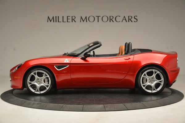 Used 2009 Alfa Romeo 8c Spider for sale Sold at Bentley Greenwich in Greenwich CT 06830 3