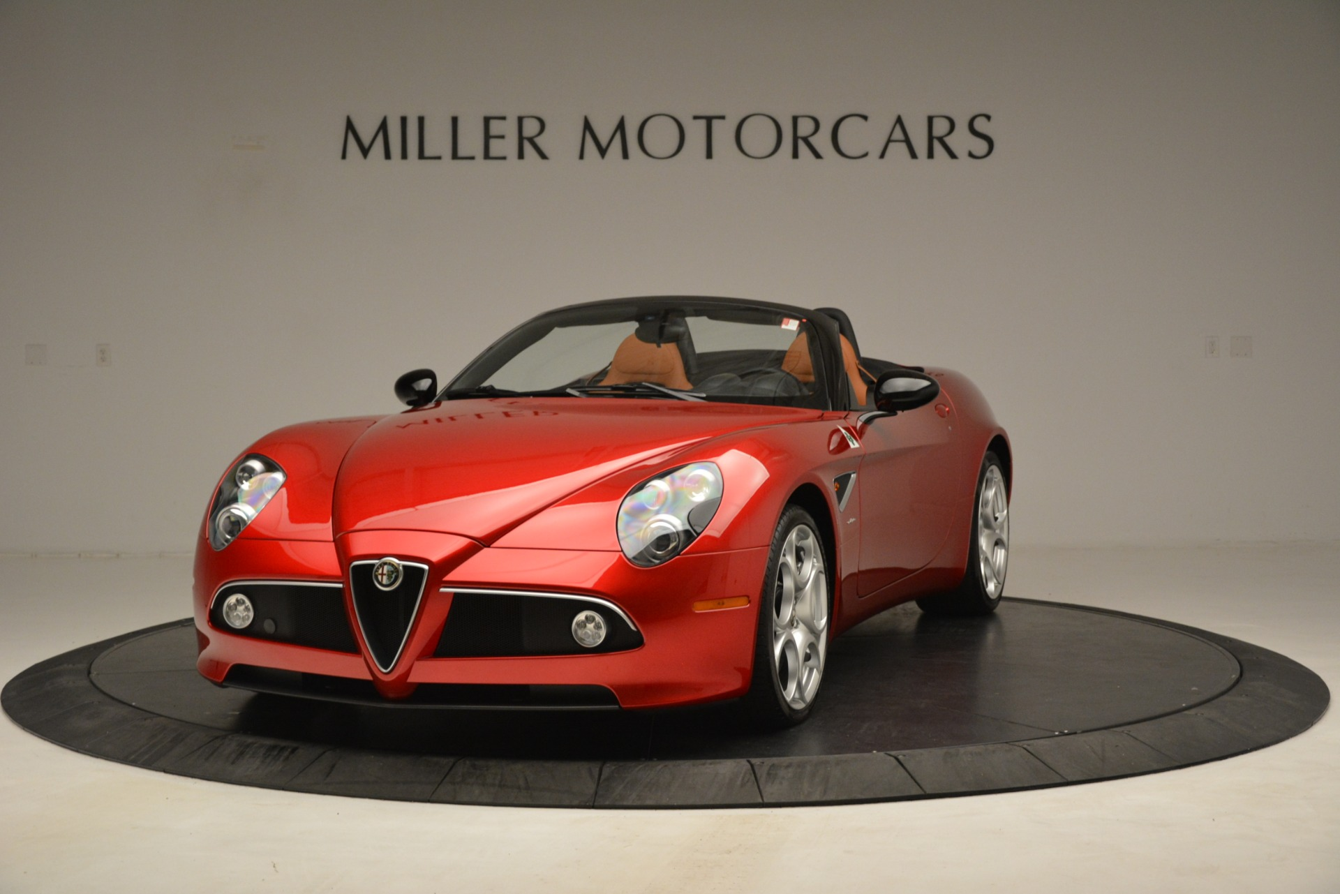 Used 2009 Alfa Romeo 8c Spider for sale Sold at Bentley Greenwich in Greenwich CT 06830 1