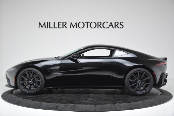 New 2019 Aston Martin Vantage V8 for sale Sold at Bentley Greenwich in Greenwich CT 06830 3